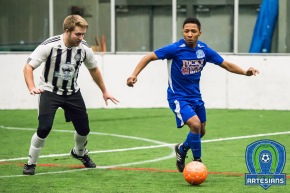 Adrian Correa scored one of the Artesians four goals