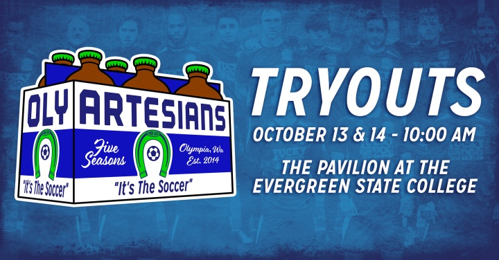 710ab60fc OLYMPIA, Wash. – The Oly Town Artesians will kick off their fifth season in  the Western Indoor Soccer League with open tryouts on Saturday, October  13th and ...