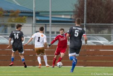 Goalkeeper JJ Olson in preseason action   Photo: Charis Wilson